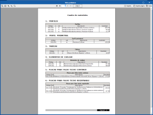 Open BIM Suspended ceilings. Materials schedule and FIEBCD-3 format
